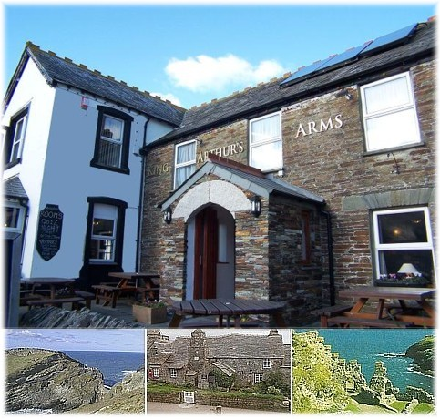 King Arthurs bed and breakfast in Tintagel